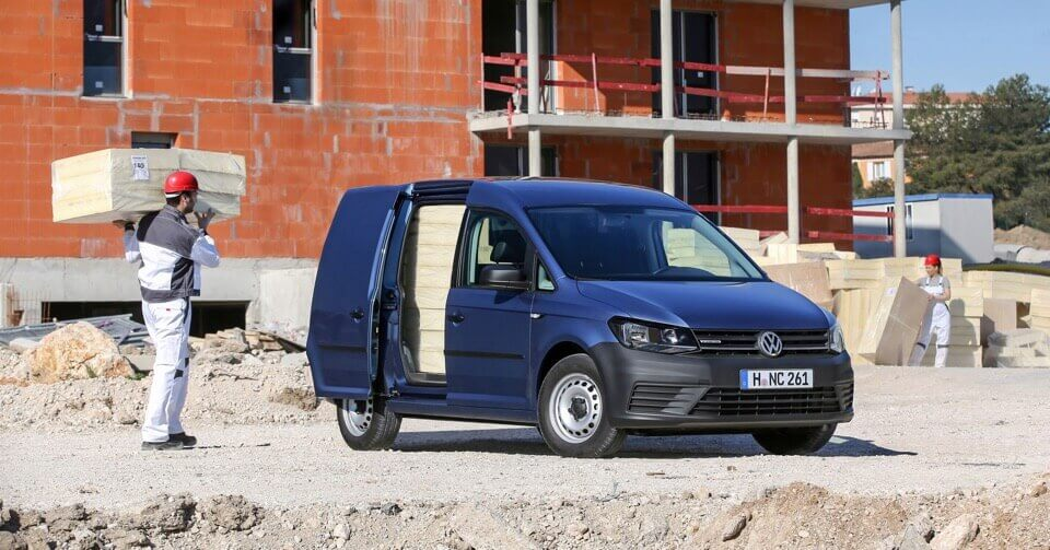 Volkswagen Caddy 4 Kombi in Blua metallic