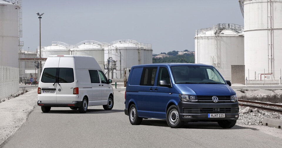 Volkswagen Generation Six Transporter