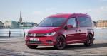 Bild von VW Caddy in Rot