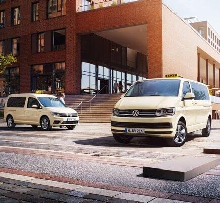 Bild von Caddy, Caddy Maxi und Karavelle als Taxi