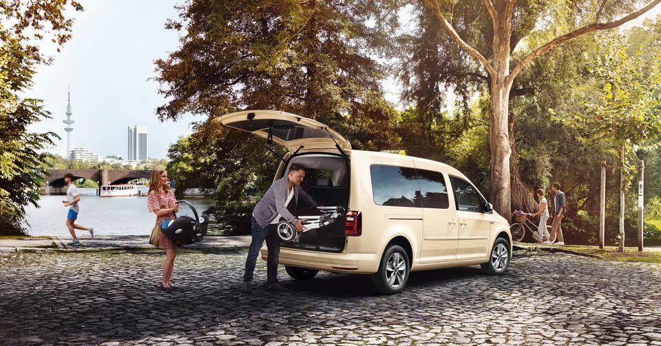 Bild von VW Caddy als Taxi