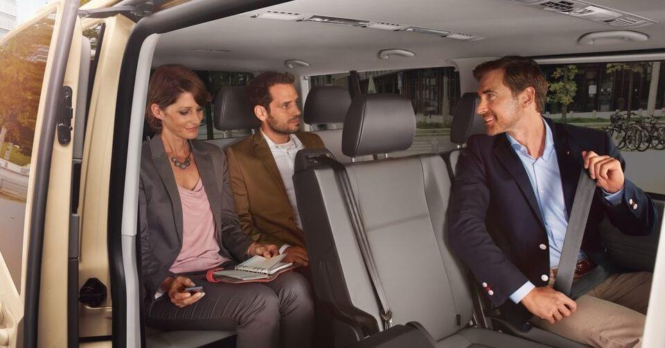 Bild von VW Caravelle als Taxi