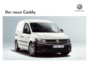 Volkswagen Caddy CU Prospekt Cover Image