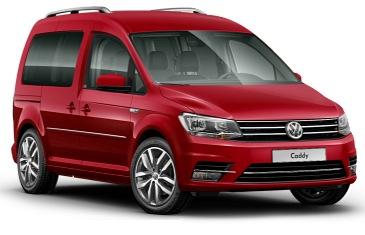 VW Caddy 4 Rot