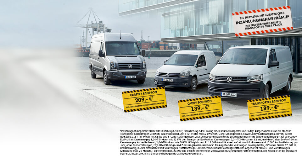MAHAG Volkswagen Nutzfarhrzeugzentrum EcoProfi Angebote