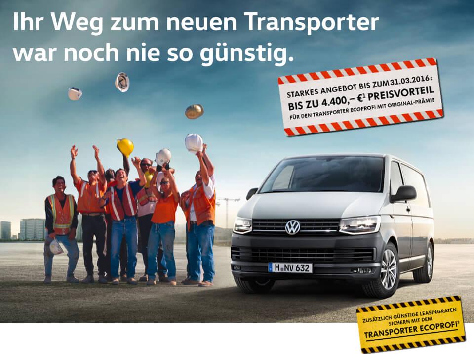 Transporter EcoProfi leasen oder kaufen