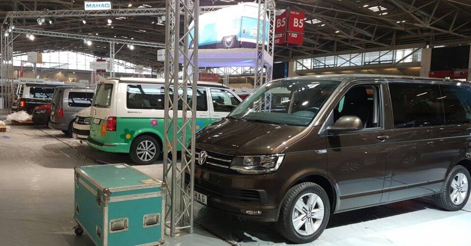 Aufbau Volkswagen Stand f.re.e 2016