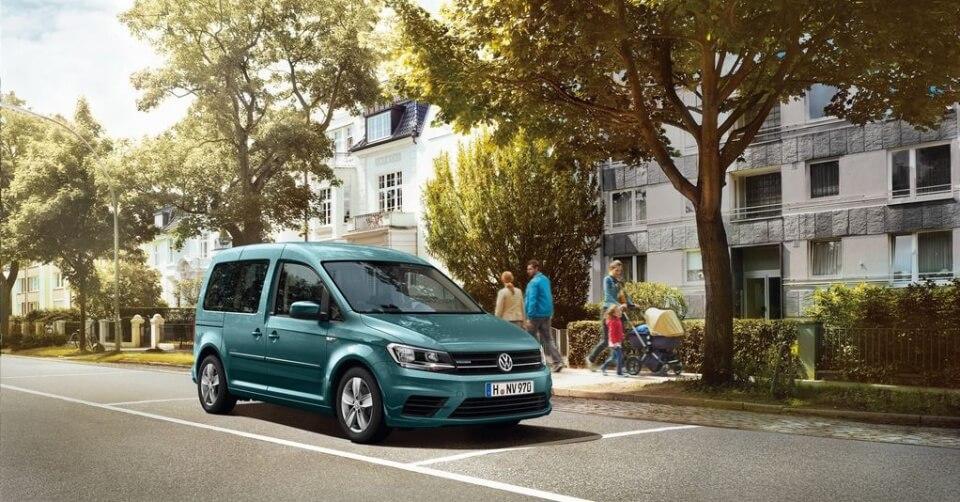 Volkswagen Caddy mit Niedrige Emissionen und effizienter CNG-Verbrauch