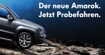 Volkswagen Amarok in München Probefahren