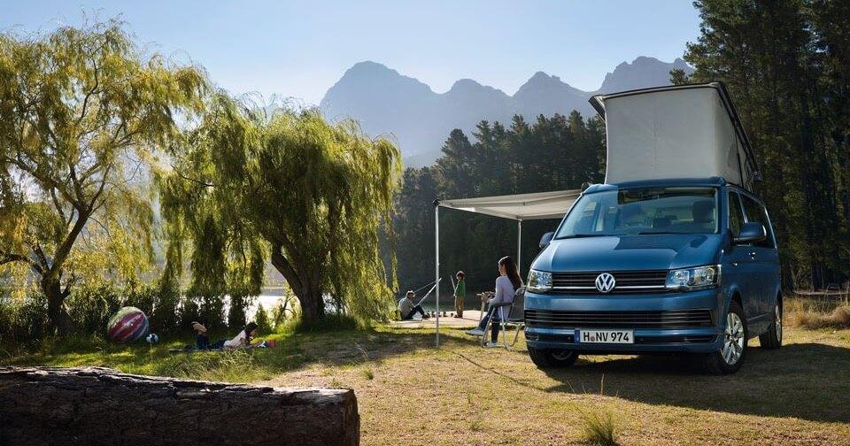 VW California Ocean in Blue
