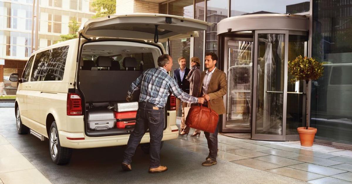 Volkswagen Caravelle Taxi Angebot München