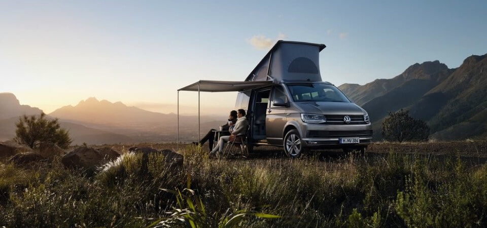 Volkswagen California in Refelxsilber-Metallic