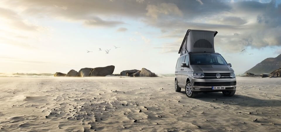 Angebot Volkswagen California Beach in Refelxsilber-Metallic