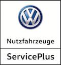 Volkswagen Nutzfahrzeuge ServicePlus logo