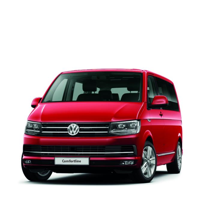 VW Multivan Comfortline in Rot