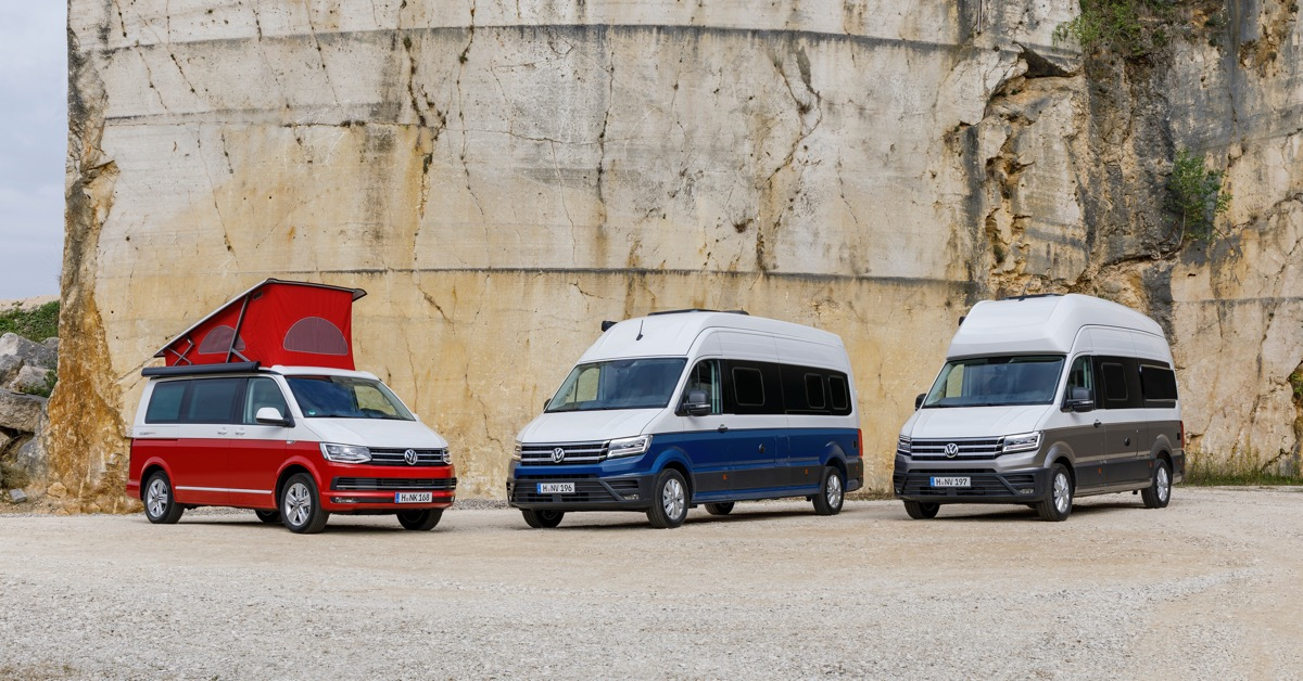 Der neue volkswagen California 30 Years, VW Grand California 600 und VW Grand California 680