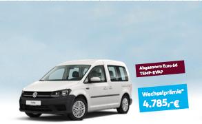 Umweltprämie und Wechselprämie Volkswagen Caddy München