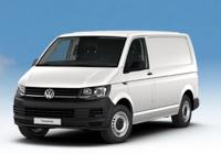 Volkswagen Transporter Kasten in Weiss