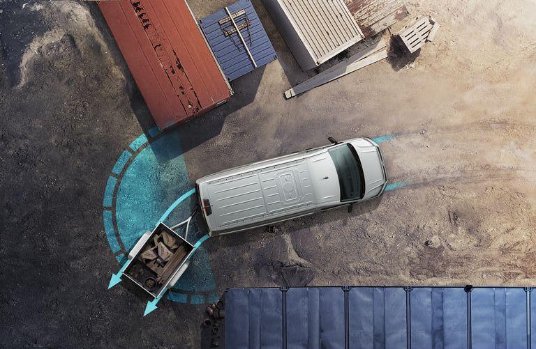 Volkswagen Crafter Fahrerassistenzsysteme - Anhängerrangierassistent Trailer Assist