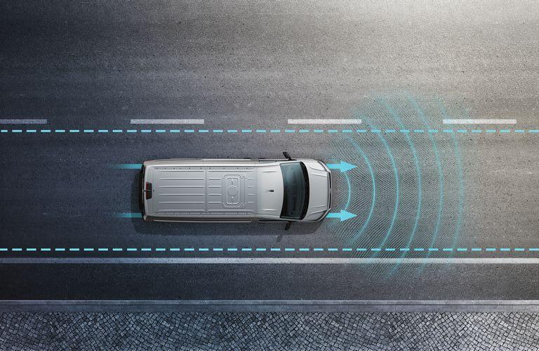 Volkswagen Crafter Fahrerassistenzsysteme - Spurhalteassistent Lane Assist