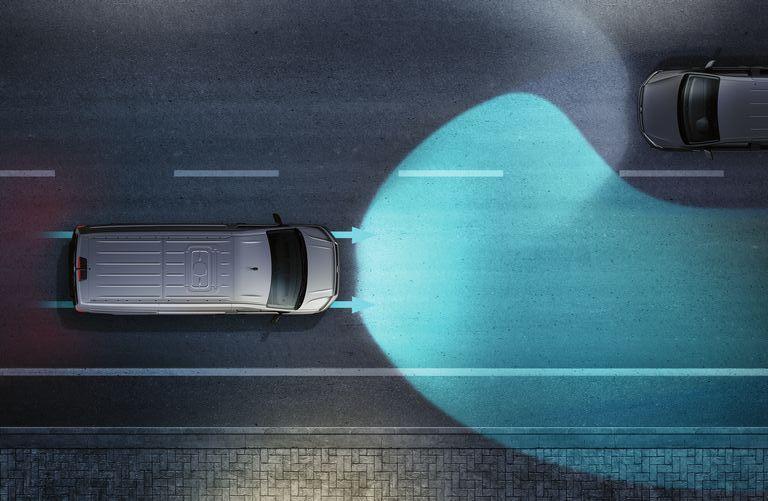 Volkswagen Crafter Fahrerassistenzsysteme - Fernlichtregulierung Light Assist