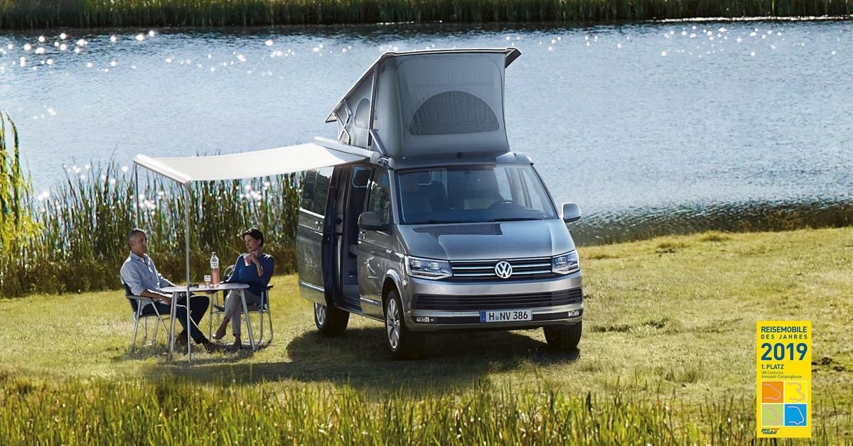VW Messe Angebot California Campingbus free Messe München