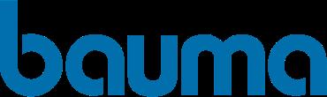 BAUMA Logo Blue