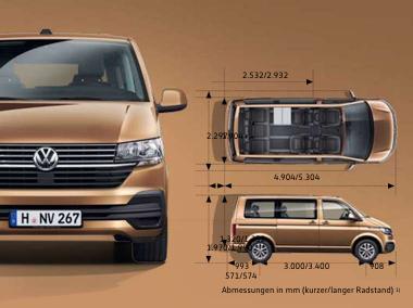VW Multivan 6.1 Comfortline Serienausstattung
