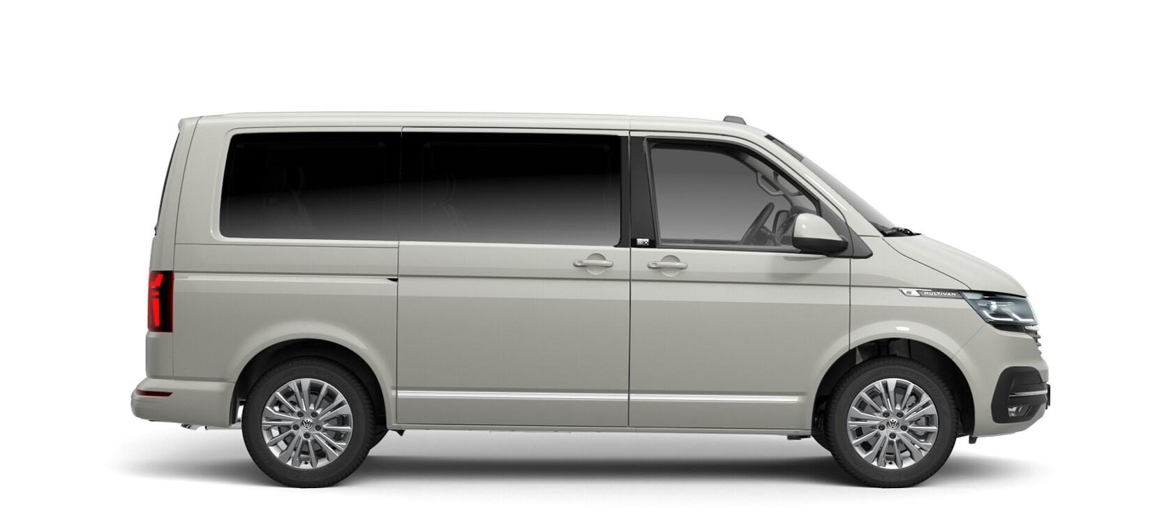 VW Multivan 6.1 Generation Six Lackierung Ascot Grau