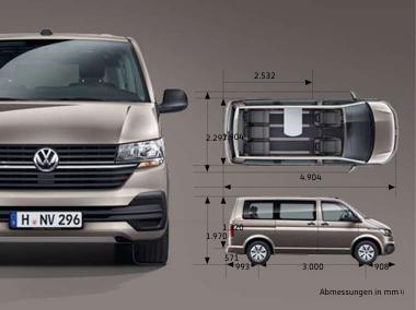 VW Multivan 6.1 Trendline Serienausstattung