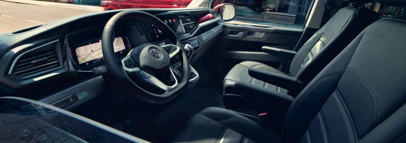 VW Multivan 6.1 Innenansicht Fahrerraum