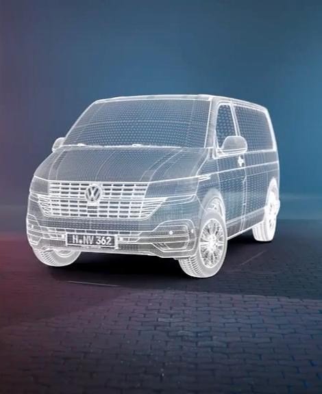 Volkswagen Transporter nueu Maßstäbe