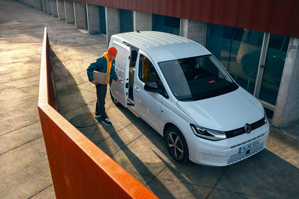 Volkswagen Caddy 5 neu 2020 Außenansicht