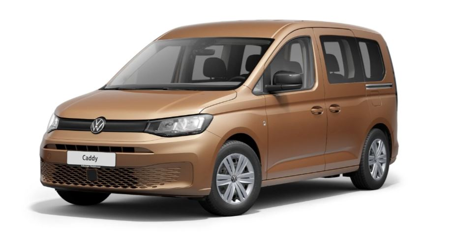 Volkswagen Caddy Generation 5 in Copper Bronze Metallic