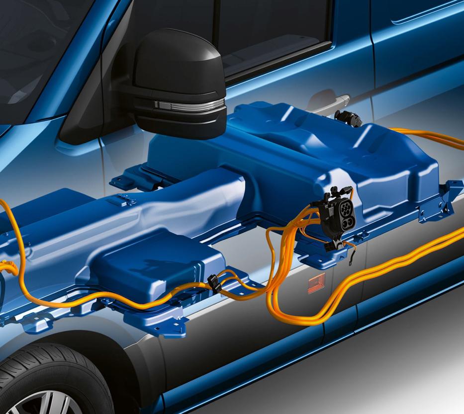 Volkswagen e-Crafter Elektromotor