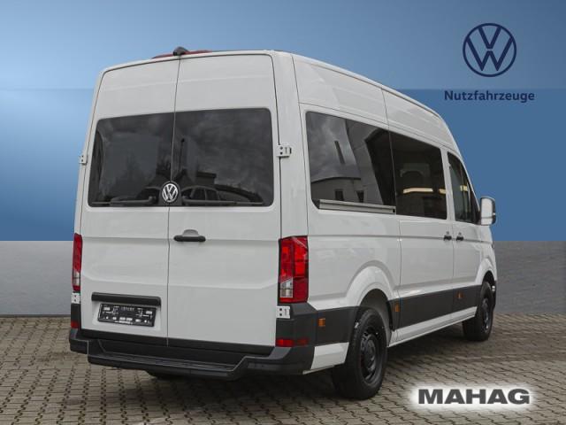 Volkswagen Crafter 35 Kombi 9 Sitzer Hochdach Sonderanfertigung hinten rechts